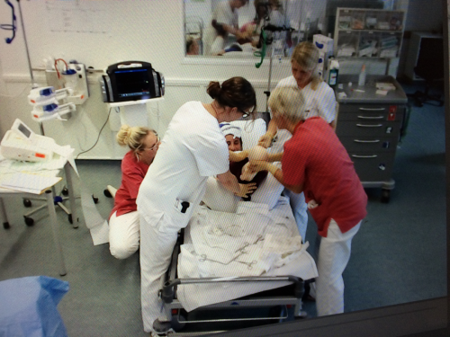 Hebammensimulationstraining
